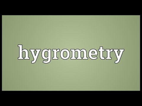 Header of hygrometry