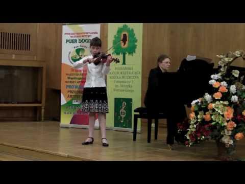 KINGA JANCZAR 23 04 2010 Frederick Seitz koncert G dur   laureatka konkursu