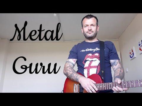 Metal Guru - T. Rex (cover) Anthony Murphy
