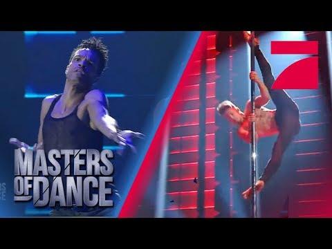 Contemporary vs. Pole Dance - Was setzt sich durch? | Masters of Dance | ProSieben | Audition