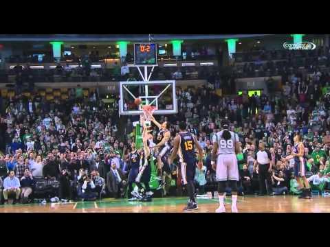 Tyler Zeller buzzer-beater game-winner: Jazz at Celtics