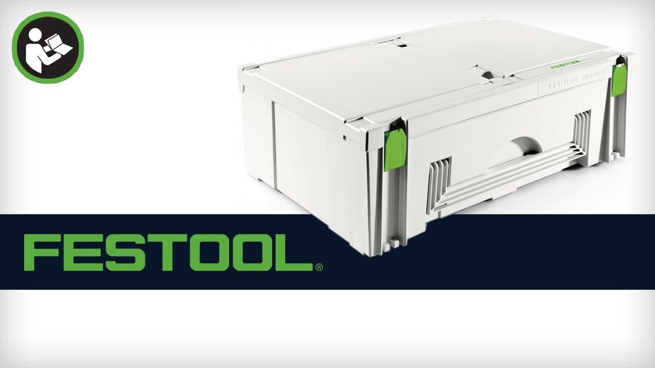 Festool Systainer SYS MIDI 3 TL 499621