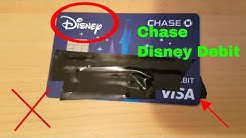 Chase Checking Disney Debit Visa Card Review