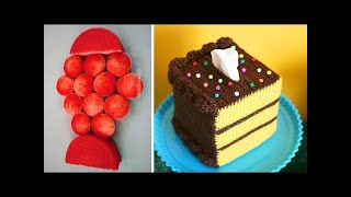 How To Make Chocolate Cakes Decorating Video 2018 - 10 Best Amazing Cake Decorating Ideas Compilaton