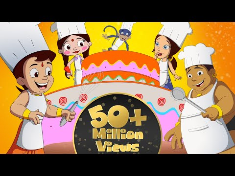 Chhota Bheem New Year Cake Party in Dholakpur
