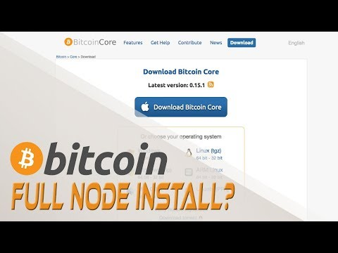 Installing A Bitcoin Core Full Node  - Cryptocurrencies and Digital Currency | Crypto Cousins