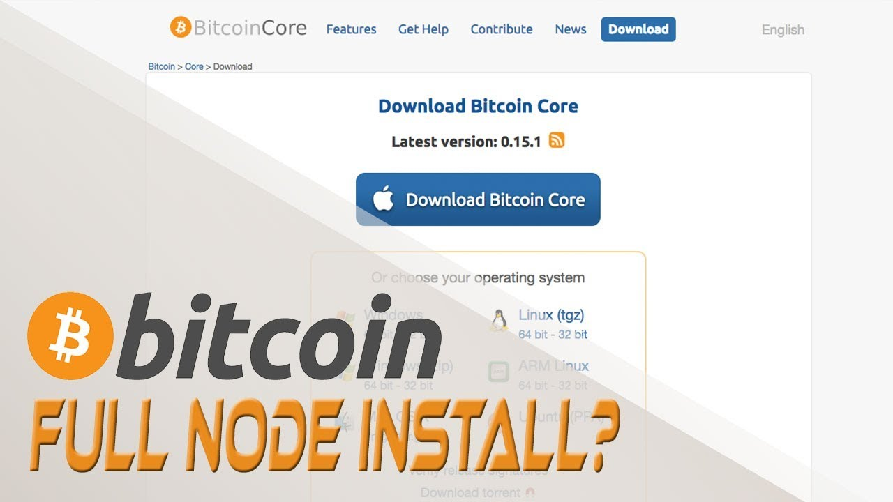 Installing A Bitcoin Core Full Node Cryptocurrencies And Digital Currency Crypto Cousins -