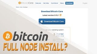 Installing A Bitcoin Core Full Node  - Cryptocurrencies and Digital Currency   Crypto Cousins