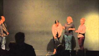 Pan Theater Improv Comedy Shows: Awkward Face Dec 21, 2013 (HD)