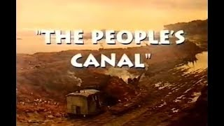 Manchester Ship Canal (The People's Canal)