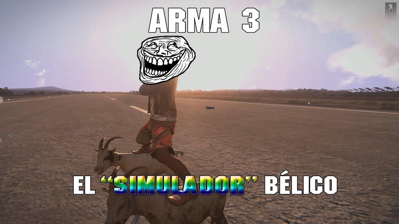 """Arma 3: El """"Simulador"""" Bélico"""
