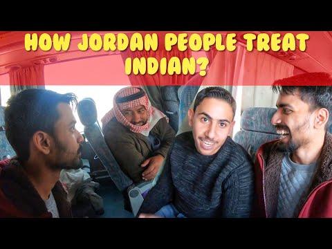 HOW JORDAN PEOPLE TREAT AN INDIAN? Amman to Aqaba Bus Journey