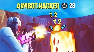 A CHEATER WITH A AIMBOT SE BAN IN GAME PLEINE! 🔥 THE BEST OF FORTNITE#134