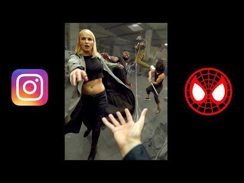 Spider-Man Instagram Story | Jay & Arya