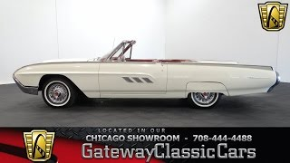 1963 Ford Thunderbird Convertible #904 Gateway Classic Cars Chicago