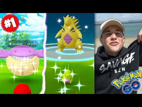 THE #1 EVENT IN POKÉMON GO HISTORY! SHINY LARVITAR Community Day!