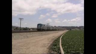Amtrak Coast Starlight: Watsonville, California