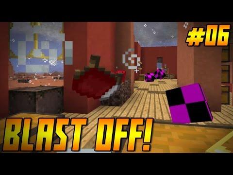 "BLAST OFF! Ep 06 - ""KILLER TORNADO!!!"" (Minecraft HQM Modpack)"