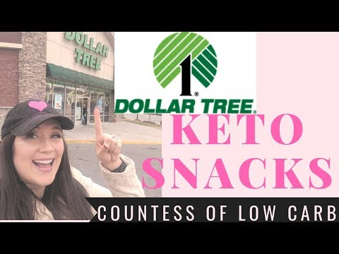 Dollar Tree Haul 💲 Keto Snacks 💲 Keto Foods