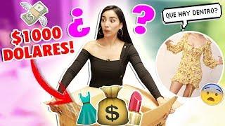ABRO CAJA MISTERIOSA GIGANTE de $1000 USD 🎁 ¡¡NO sé qué hay dentro!! | Claudipia