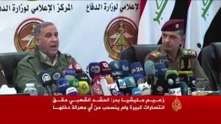 العامري يفتخر بأن الحشد الشعبي الأقوى عراقيا