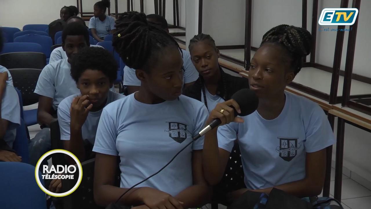 Radio Télescopie:  Rencontre au Collège de Kermadec