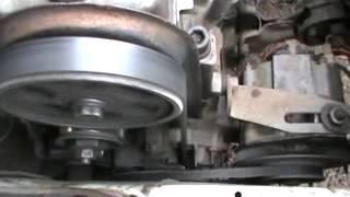 видео Замена натяжного ролика ремня грм на ВАЗ 2108, ВАЗ 2109, ВАЗ 21099