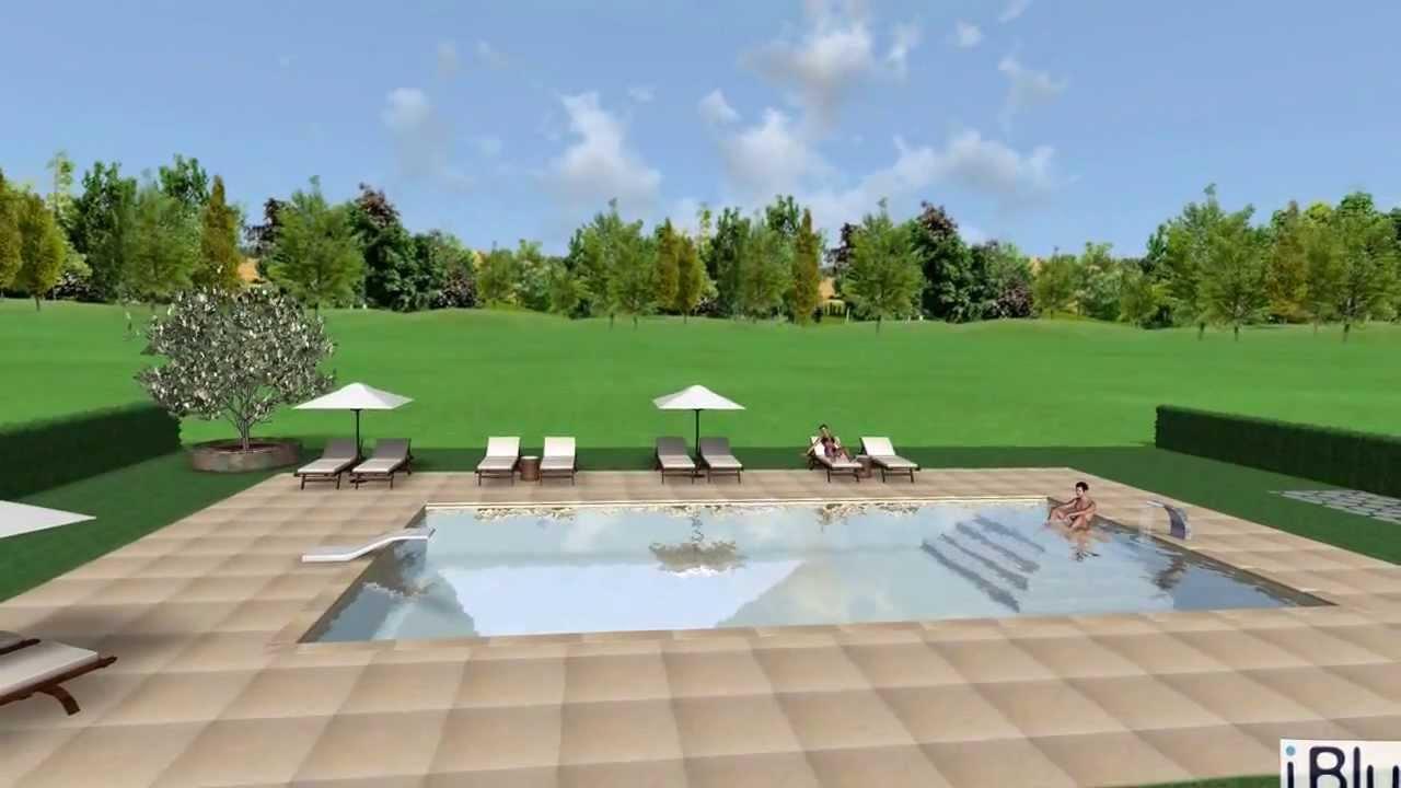 video rendering piscina 6x12 youtube