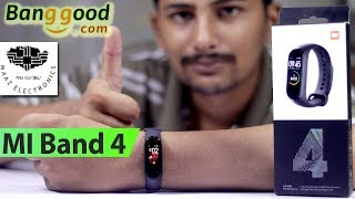 Xiaomi Mi Band 4 Global Version Unboxing & Review Banggood Urdu, Hindi