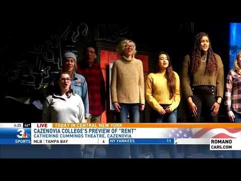 Brandon Roth Live At Cazenovia College Previewing Rent 6:25am 4/4/18