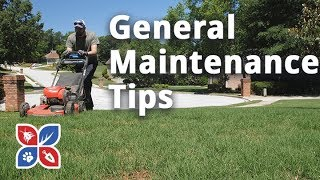Do My Own Lawn Care - General Maintenance Tips
