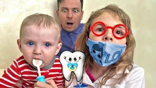 Five Kids Dentist Song Nursery Rhymes & Children' Song