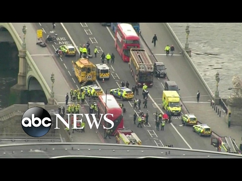 Terror investigation underway in London