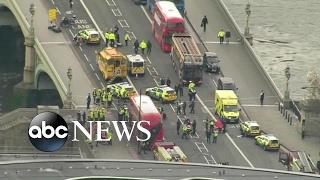 Terror investigation underway in London