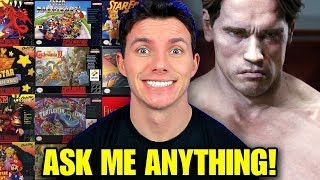 Best Classic Games, Screen Junkies & Terminator 6 - Q&A ASK ANYTHING!