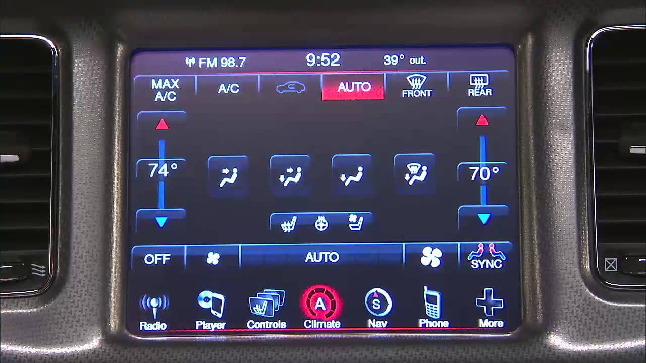 2014 Dodge Charger I Automatic Climate Controls