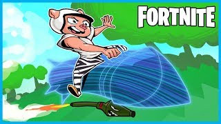 ROCKET RIDECEPTION VICTORY ROYALE in Fortnite: Battle Royale! (Fortnite Funny Moments & Fails)