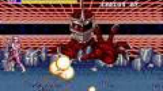 Mega Drive Longplay [043] Mighty Morphin Power Rangers - The Movie