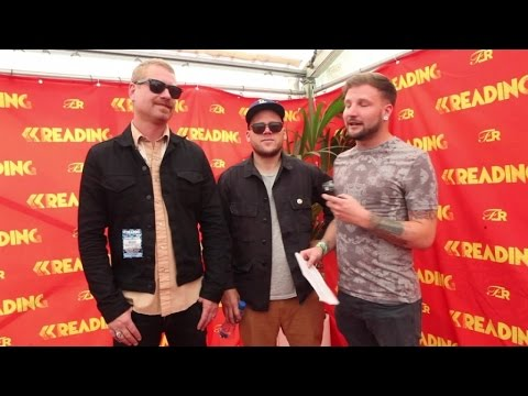 The Bronx - Interview at Reading Festival 2015