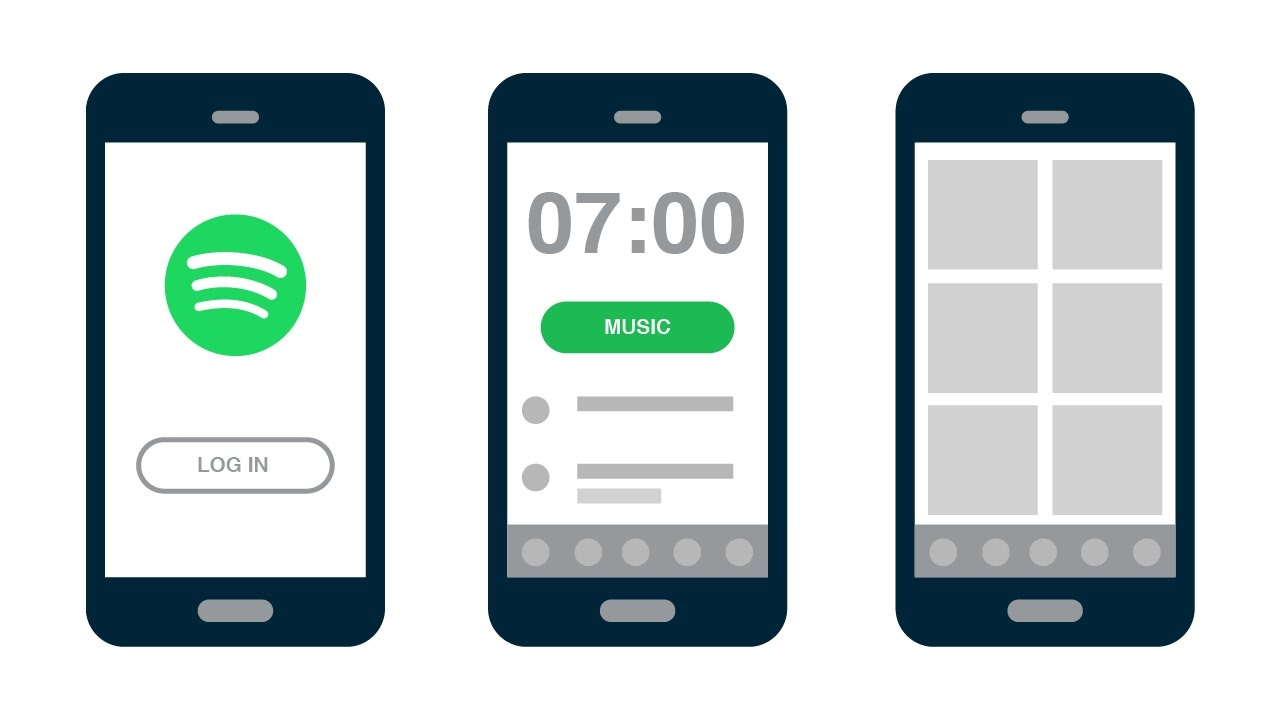 Mornings - Alarm clock for Spotify