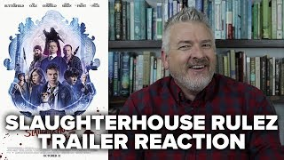 Slaughterhouse Rulez (Simon Pegg) Trailer Reaction and Review - Movies & Munchies