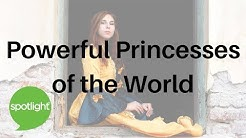 """""""Powerful Princesses of the World"""" - practice English with Spotlight"""