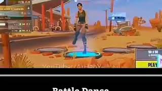Battle Dance PUBG Vs FORTNITE Vs Free Fire 🔥