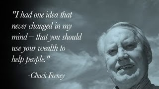 Chuck Feeney on Giving While Living