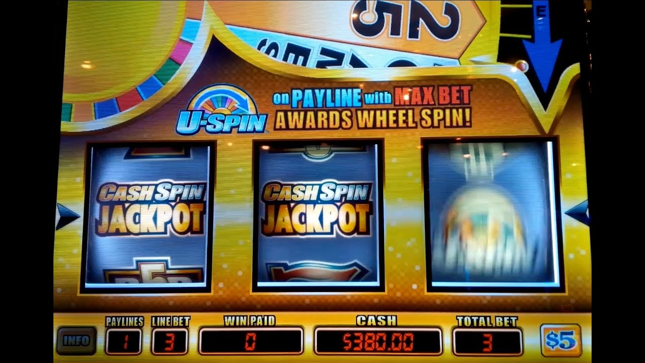 Cash Spin Jackpot Slot - HEART STOPPING - $15 Max Bet! - YouTube