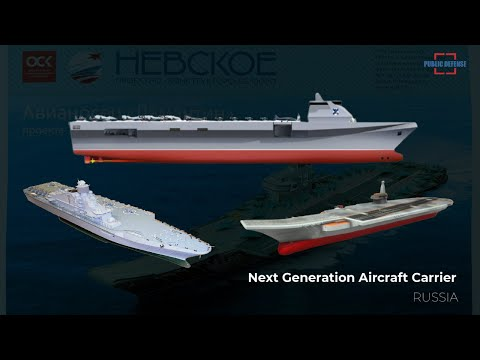 Russia Has Been Developing Next-Generation Aircraft Carrier Projects