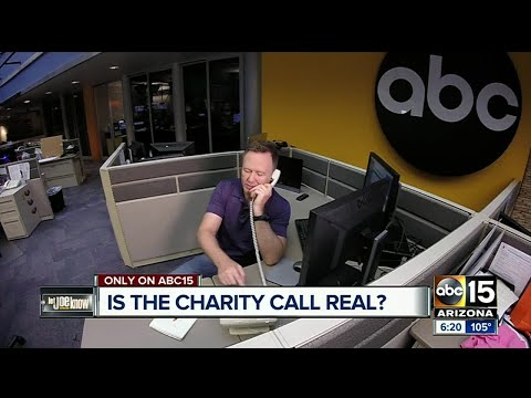 Police charity asking for money - is it a scam?
