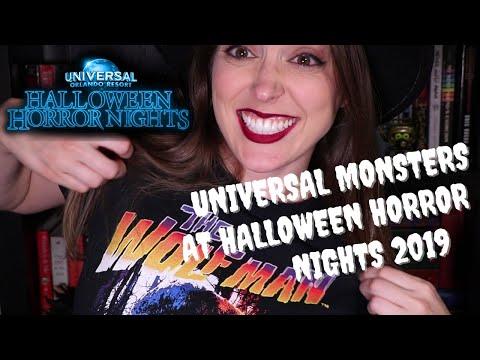 Universal Monsters at Halloween Horror Nights 2019