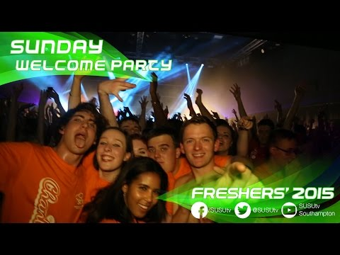 Freshers' 2015 | Sunday Welcome Party