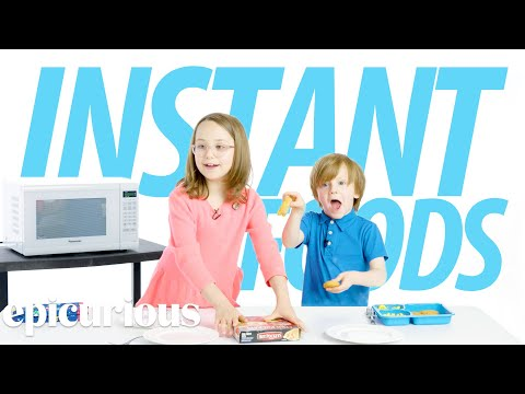 Kids Try 100 Years of Instant Foods | Bon Appetit